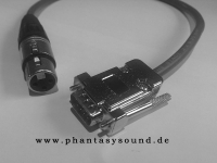 XLR - RS232 Adapterkabel